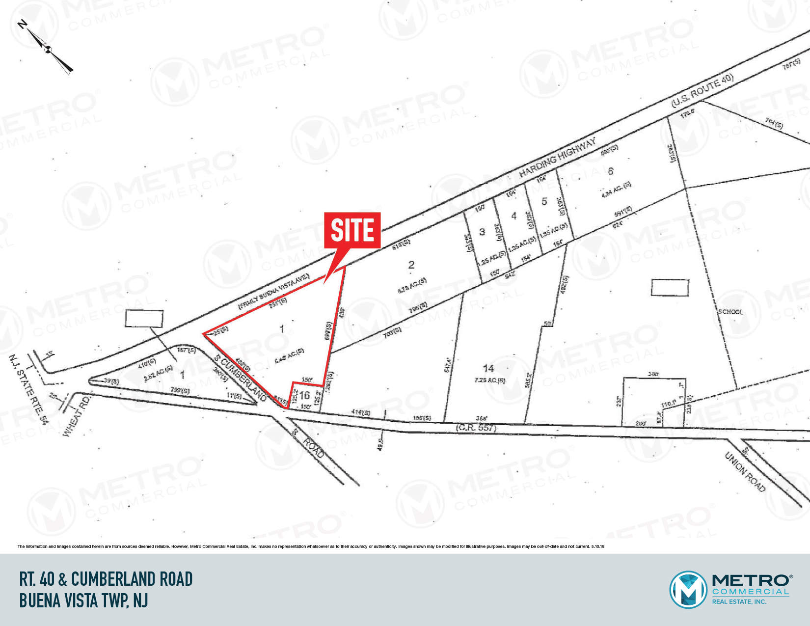 Route 40 & Cumberland Road – Metro Commercial